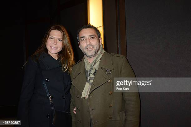 'Faim de Vie' actors Jean Pierre Martins and Alexandra Genoves attend Women Short Movies Screening Cocktail Hosted By 'Le Jour Le Plus Court' At The...
