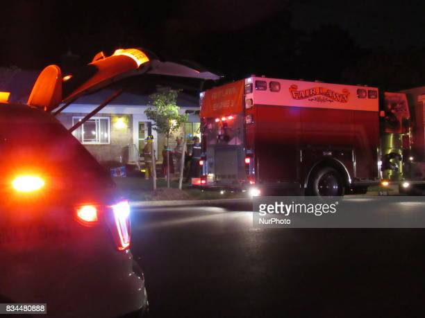 Fair Lawn Fire Department responds to report of smoke in a home on 12th Street in Fair Lawn NJ on August 17 2017