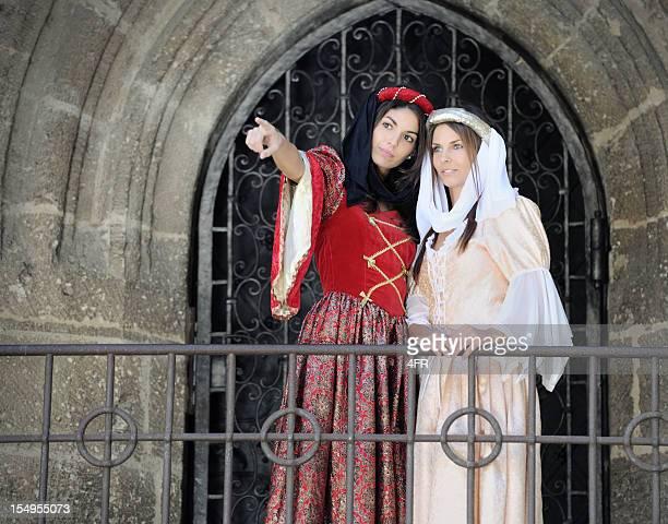 Fair Maiden in Medieval Dresses (XXXL)