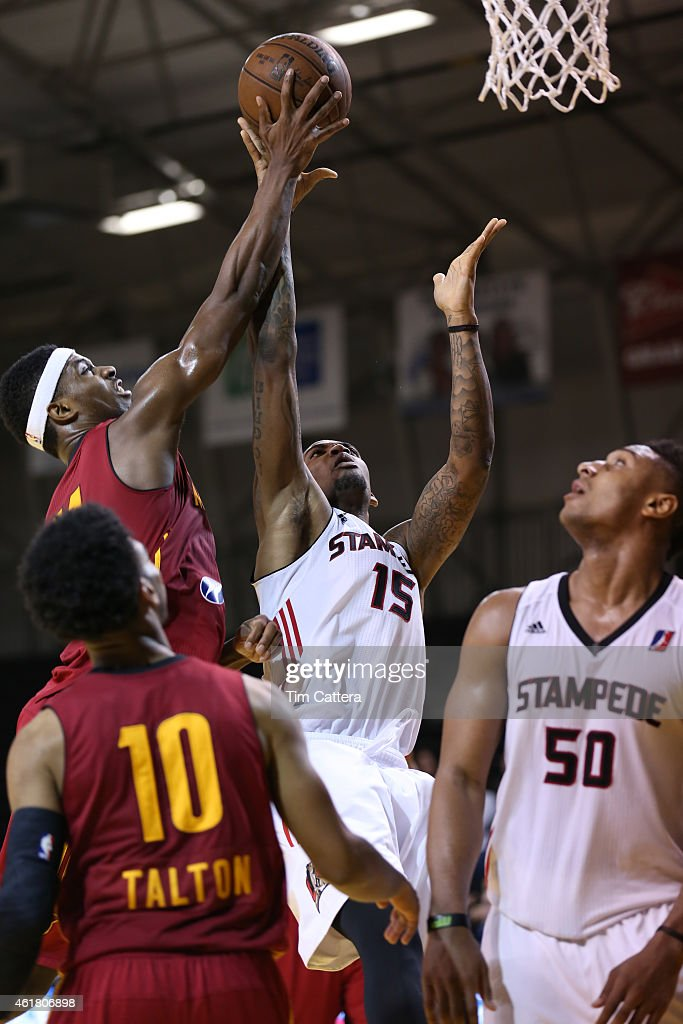 CJ Fair #11 the Fort Wayne Mad Ants play against the Idaho Stampede during the NBA D-League Showcase game on January 19, 2015 at Kaiser Permanente Arena in Santa Cruz, California.