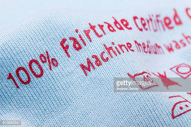 Fair trade printed on cotton fabric