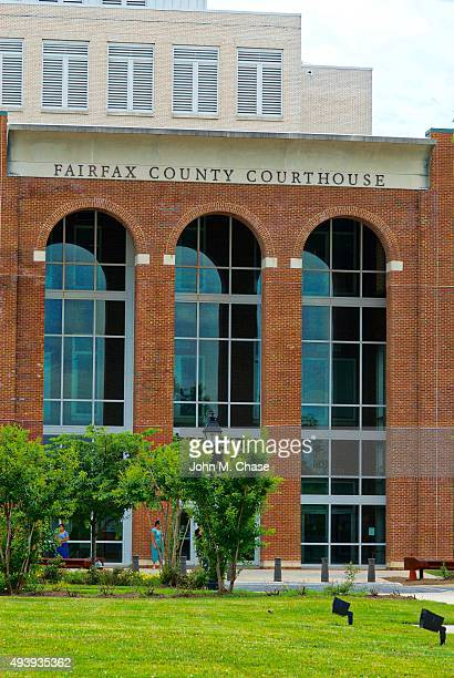 fairfax county courthouse - fairfax county virginia stock photos and pictures