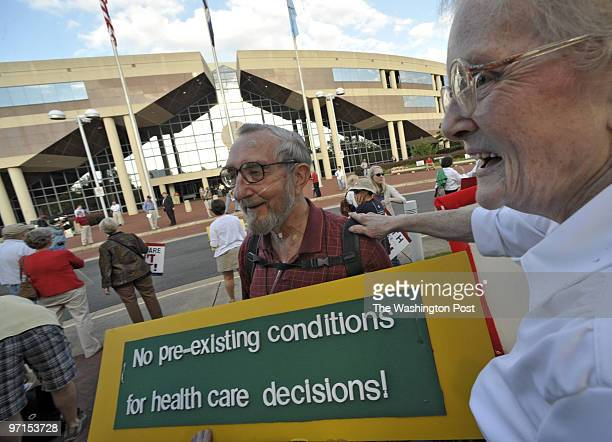 SEPT 2 2009 Fairfax Government Center 12000 Government Center Parkway Fairfax VA Prohealth care reform forum held at the Fairfax Government Center...