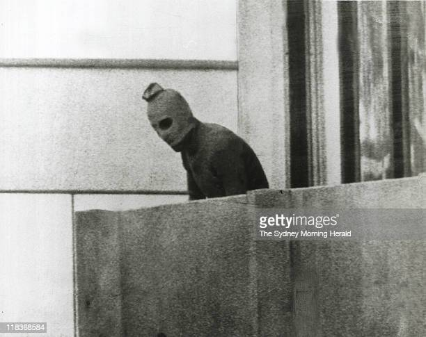 A Fairfax photographer captured one of the defining images of the Munich Olympics in 1972 This Palestinian is one of a group that had taken 12...