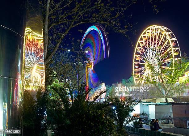Fairground in Linz