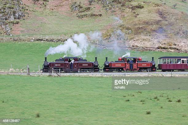 Fairlie Dampfbad Lokomotiven der Ffestiniog & Welsh Highland Railway