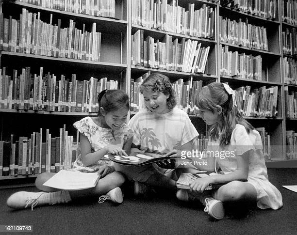 4/7/1988 APR 10 1988 Fairmont Elem Golden young authors at fairmount Elem prepare for weekend young writers conference that will involve 2400 kids L...