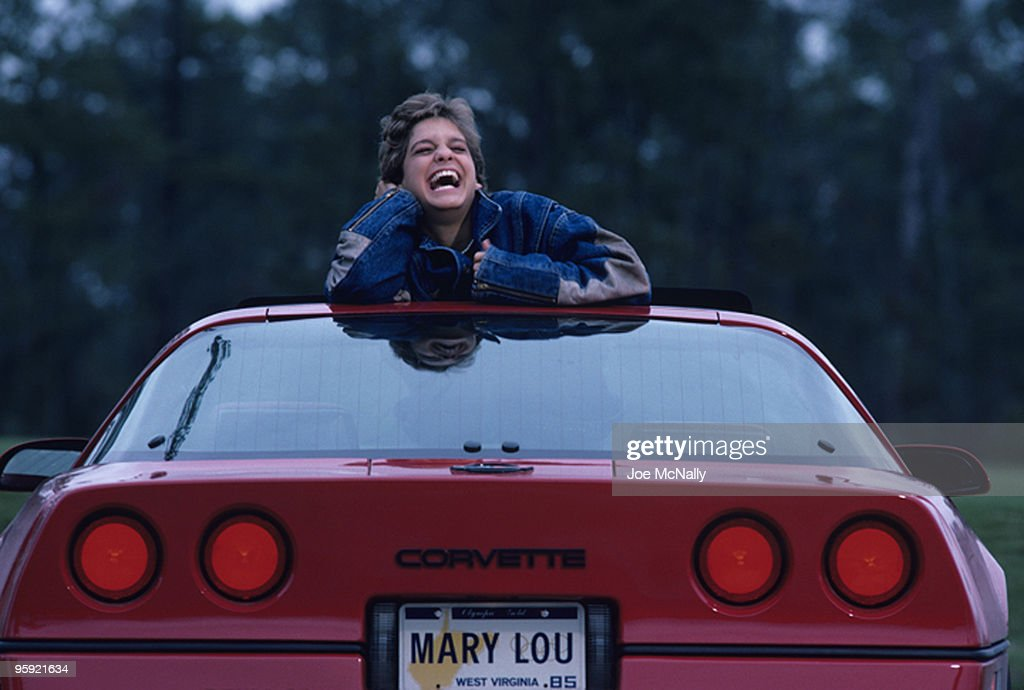 Mary Lou Retton's success has brought her a new set of wheels. This 16 year old has a calendar that reads Macy's Thanksginving Day Parade, Bob Hope Christmas special and a cover on Seventeen magazine to name a few.