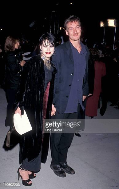 Fairuza Balk and date at the Vanity Fair Oscar Party Morton's Restaurant West Hollywood