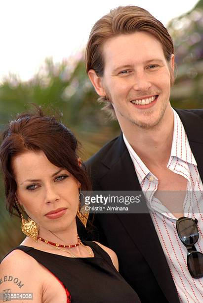 Fairuza Balk and Gabriel Mann during 2005 Cannes Film Festival 'Don't Come Knocking' Photocall at Terrasse Riviera in Cannes France