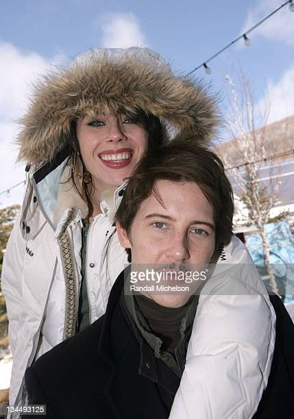 Fairuza Balk and Gabriel Mann during 2006 Sundance Film Festival 'Don't Come Knocking' Outdoor Portraits in Park City Utah United States