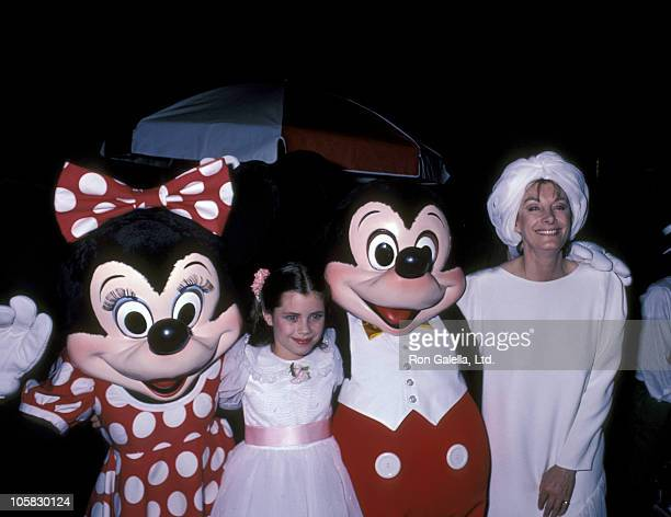 Fairuza Balk and Jean Marsh during Premiere of 'Return To Oz' June 21 1985 at Radio City Music Hall in New York City New York United States