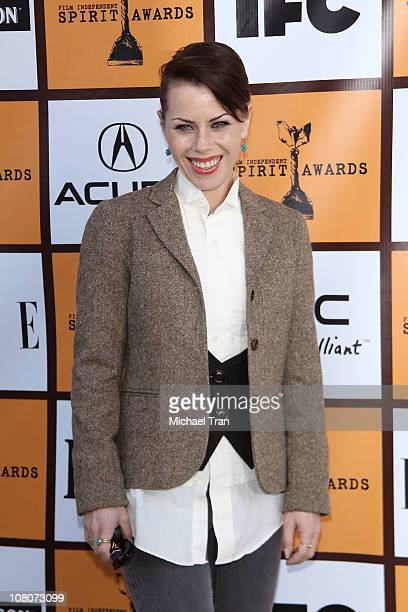 Fairuza Balk arrives at the Film Independent Spirit Awards filmmaker nominee brunch held at BOA Steakhouse on January 15 2011 in West Hollywood...
