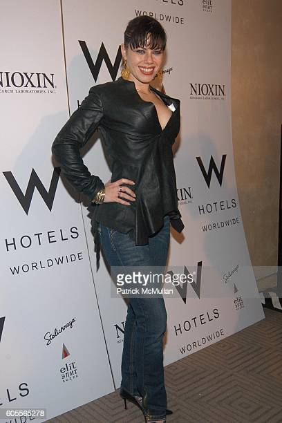 Fairuza Balk attends ALVIN VALLEY Fall 2006 Collection at W Hotel on February 6 2006 in New York