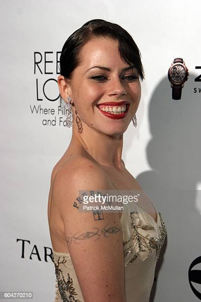 Fairuza Balk attends Film Foundation Oscar Party at Aqua Restaurant Lounge on March 1 2006 in Beverly Hills CA