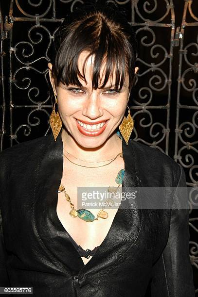 Fairuza Balk attends Kai Milla Fall 06 after party hosted by Stevie Wonder at The Prince George Ballroom on February 6 2006 in New York