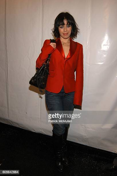 Fairuza Balk attends OLYMPUS PHOTO STUDIO at Bryant Park on February 3 2006 in New York City