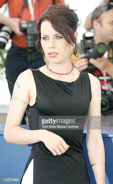 Fairuza Balk during 2005 Cannes Film Festival 'Don't Come Knocking' Photocall at Terrasse Riviera in Cannes France