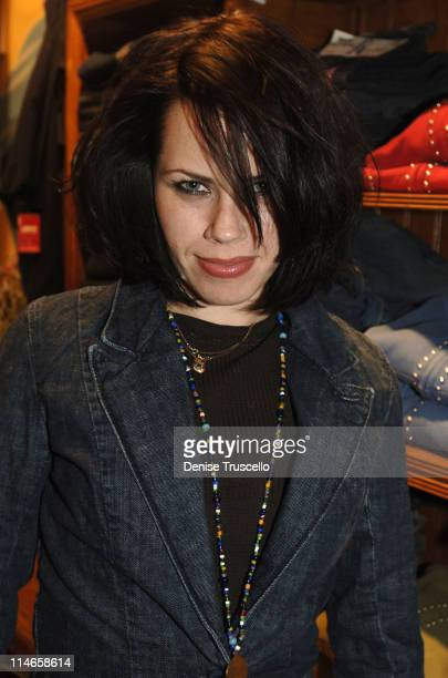 Fairuza Balk during 2006 Park City Levi's Dry Goods Day 6 at Main Street in Park City Utah United States
