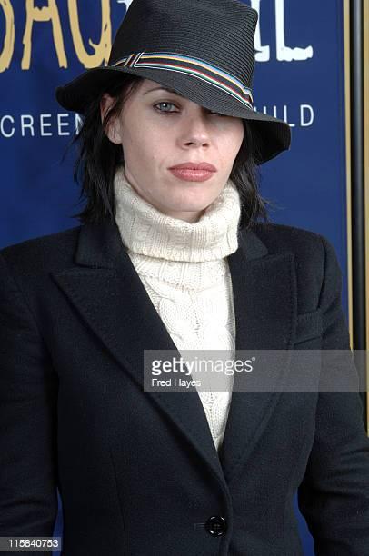 Fairuza Balk during 2006 Sundance Film Festival SAG Indie Brunch at Cafe Terigo in Park City Utah United States
