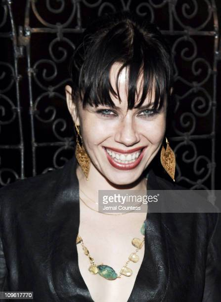 Fairuza Balk during Olympus Fashion Week Fall 2006 Kai Milla After Party at The Prince George Ballroom in New York City New York United States