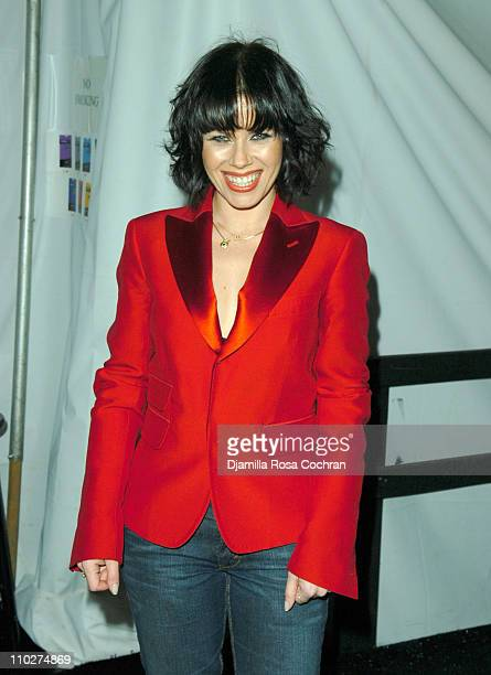 Fairuza Balk during Olympus Fashion Week Fall 2006 Seen Around Tent Day 3 at Bryant Park in New York City New York United States