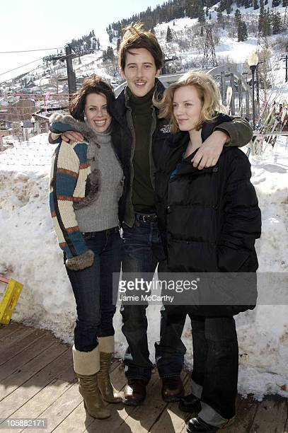 Fairuza Balk Gabriel Mann and Sarah Polley during 2006 Park City Cafe Yahoo and W Hotel Lounge at Village at the Lift Day 7 at Village at the Lift in...