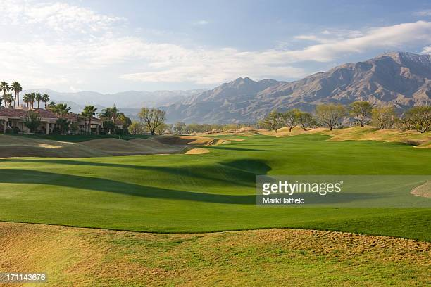 Fairway On Golf Course At La Quinta California
