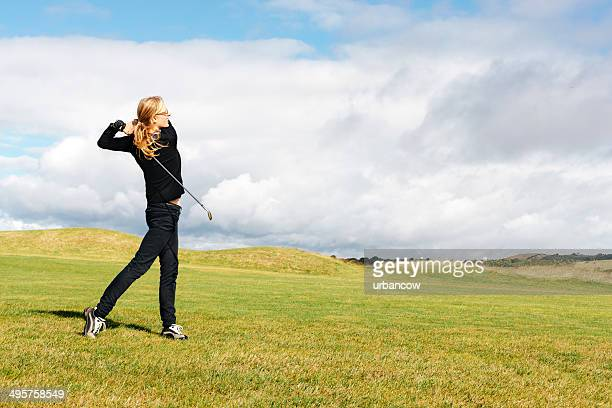 fairway stroke - golf stock pictures, royalty-free photos & images
