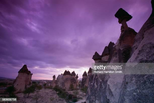 Fairy Chimneys at Twilight