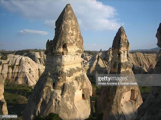 Fairy Chimneys in Goreme (Cappadocia)