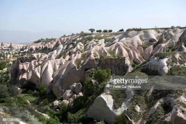 Fairy Chimneys rock at Uçhisar, Nevşehir Province, Central Anatolia Region, Turkey