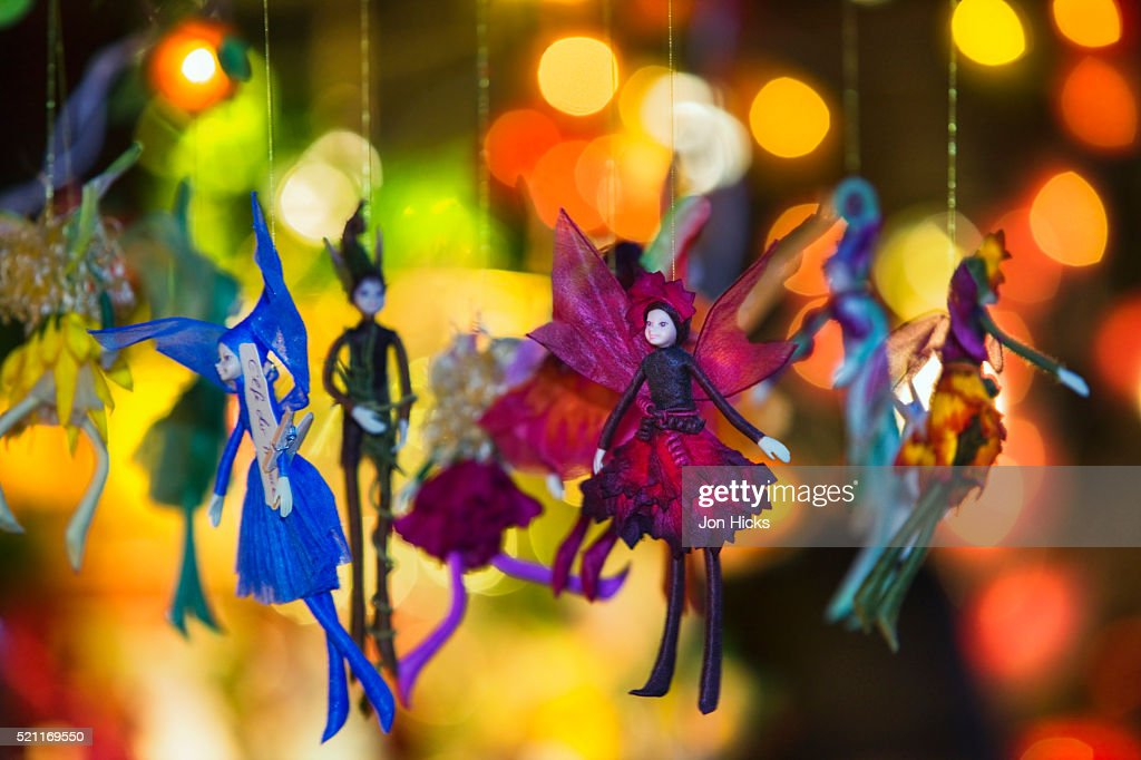 Fairy Christmas Ornaments.Fairy Christmas Ornaments Stock Photo Getty Images