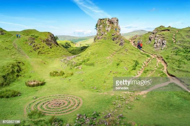 Fairy Glen near Uig Isle of Skye Scotland