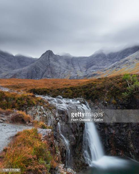 fairy pools before sunrise - lake stock pictures, royalty-free photos & images