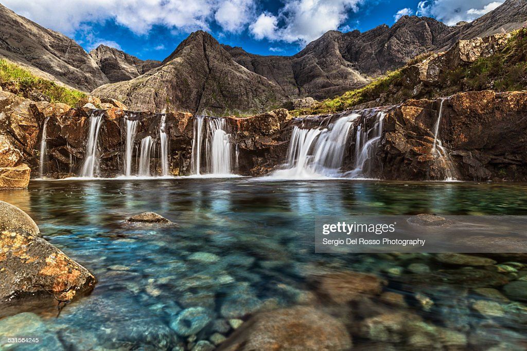 Fairy Pools : Stock Photo