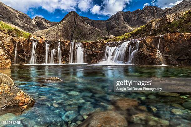fairy pools - standing water stock pictures, royalty-free photos & images