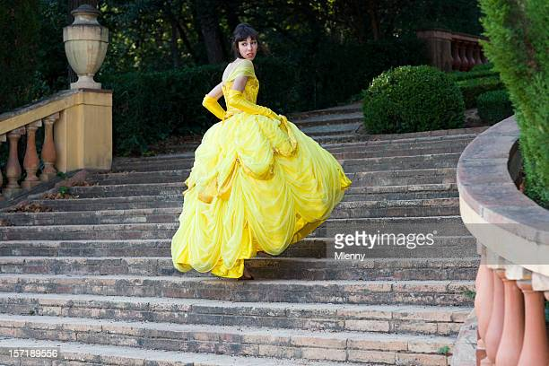 fairy tale beautiful girl lost her shoe - period costume stock pictures, royalty-free photos & images