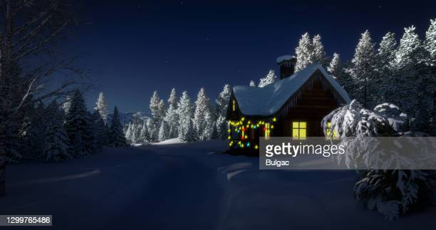 fairy winter landscape - hd stock pictures, royalty-free photos & images