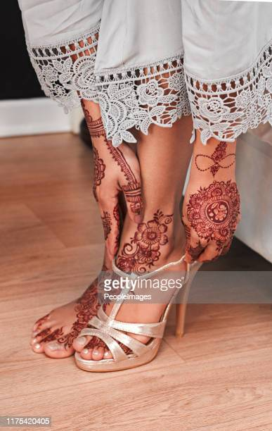 fairytale footwear for a fairytale day - sari stock pictures, royalty-free photos & images