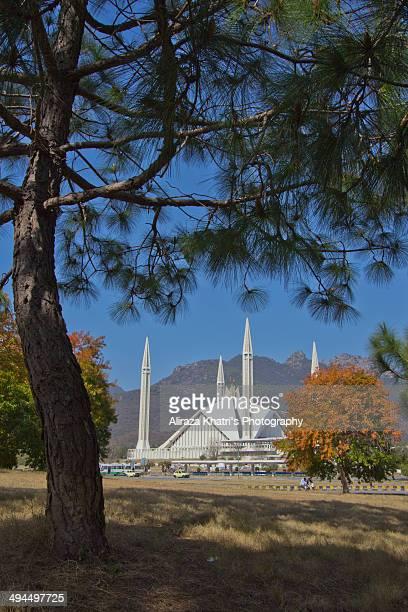 faisal masjid - イスラマバード ストックフォトと画像