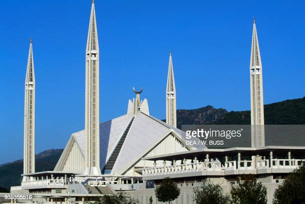Faisal Mosque by Vedat Dalokay Islamabad Pakistan