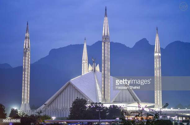 World S Best Shah Faisal Mosque Stock Pictures Photos And