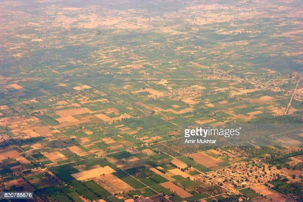 Faisalabad City From Air