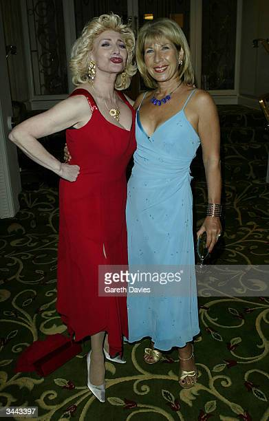 Faith Brown and Jennie Bond attend the party following the The British Academy Television Awards at the Grosvenor House Hotel ballroom on April 18...