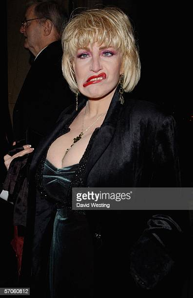 Faith Brown arrives at the Variety Club - Annual Dinner & Ball, the 54th annual fundraiser for the charity, at Grosvenor House on March 11, 2006 in...