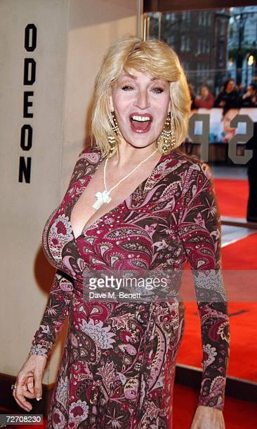 Faith Brown arrives at the world premiere of 'Miss Potter' at Odeon Leicester Square on December 3 2006 in London England