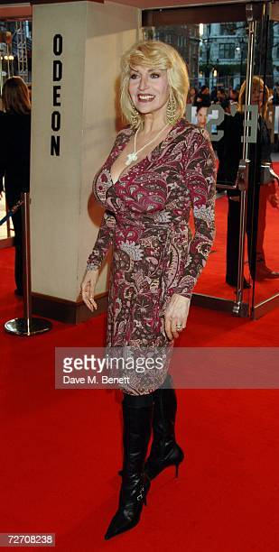 Faith Brown arrives at the world premiere of 'Miss Potter', at Odeon Leicester Square on December 3, 2006 in London, England.