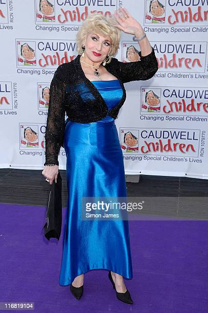 Faith Brown arrives for the Caudwell Children 'The Legends Ball' at Battersea Evolution on May 8, 2008 in London, England.