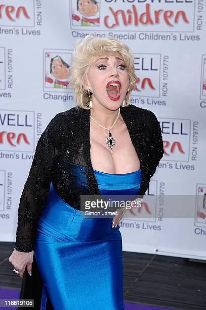 Faith Brown arrives for the Caudwell Children 'The Legends Ball' at Battersea Evolution on May 8 2008 in London England